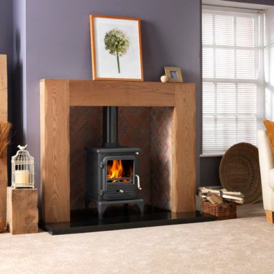 Albero Natural Oak Fireplace