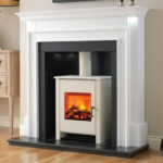 Aubade Electric Stove Fireplace Suite