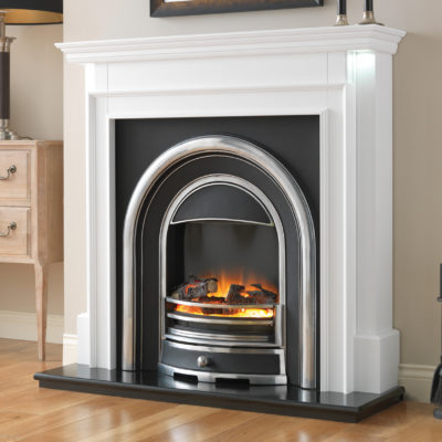 Aubade Electric Cast Fireplace Suite