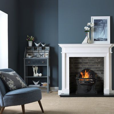 Aversa - Agean Limestone Fireplace