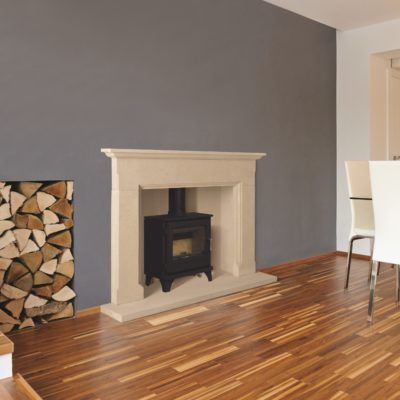 Barrington Bathstone Fireplace