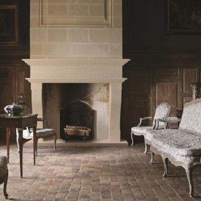Chatillon Bathstone Fireplace