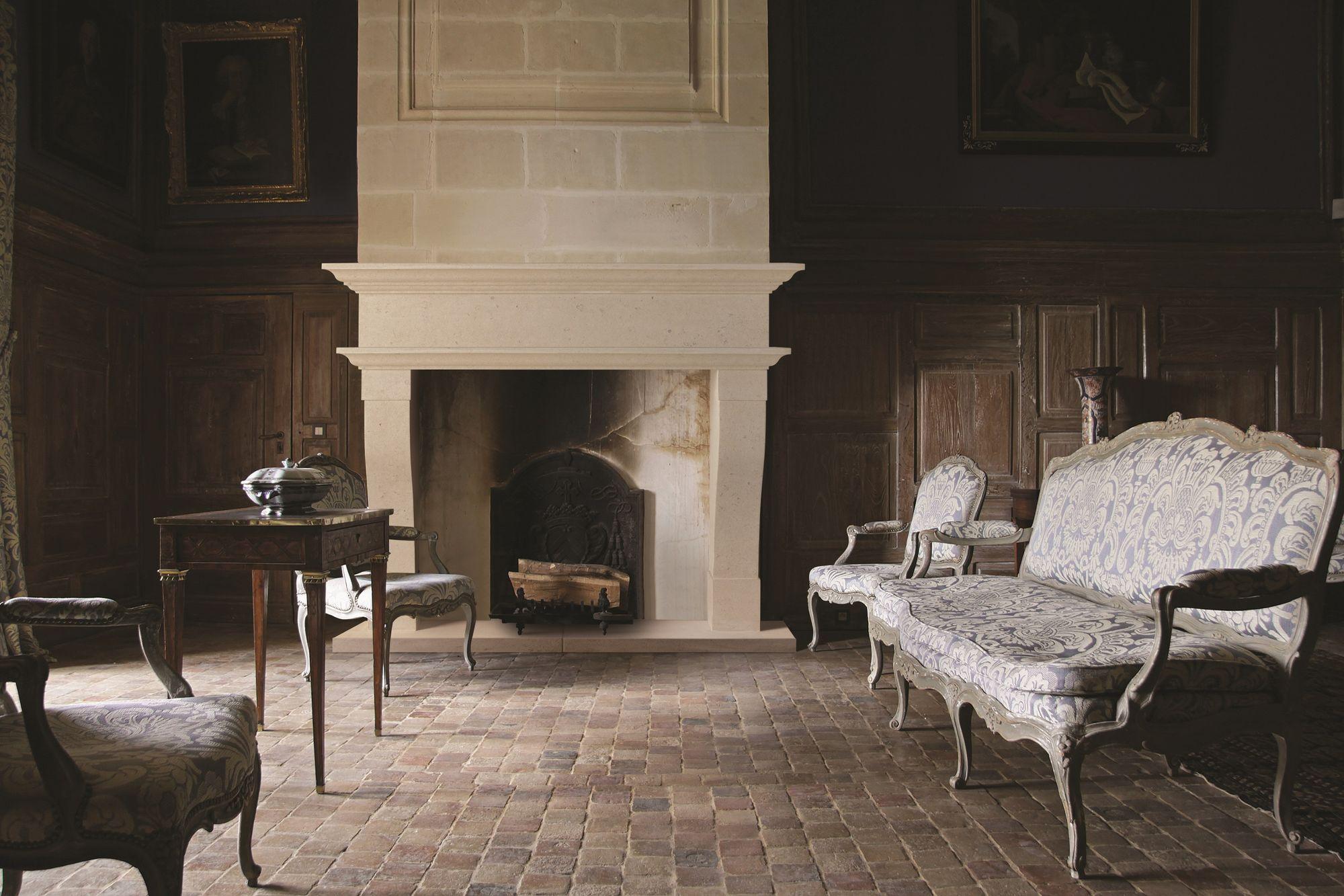 Chatillon Bathstone Fireplace