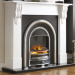 Corbel Fireplace Suite with Tennyson Cast