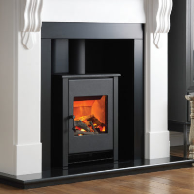 Corbel Fireplace Suite with Little Atom Stove