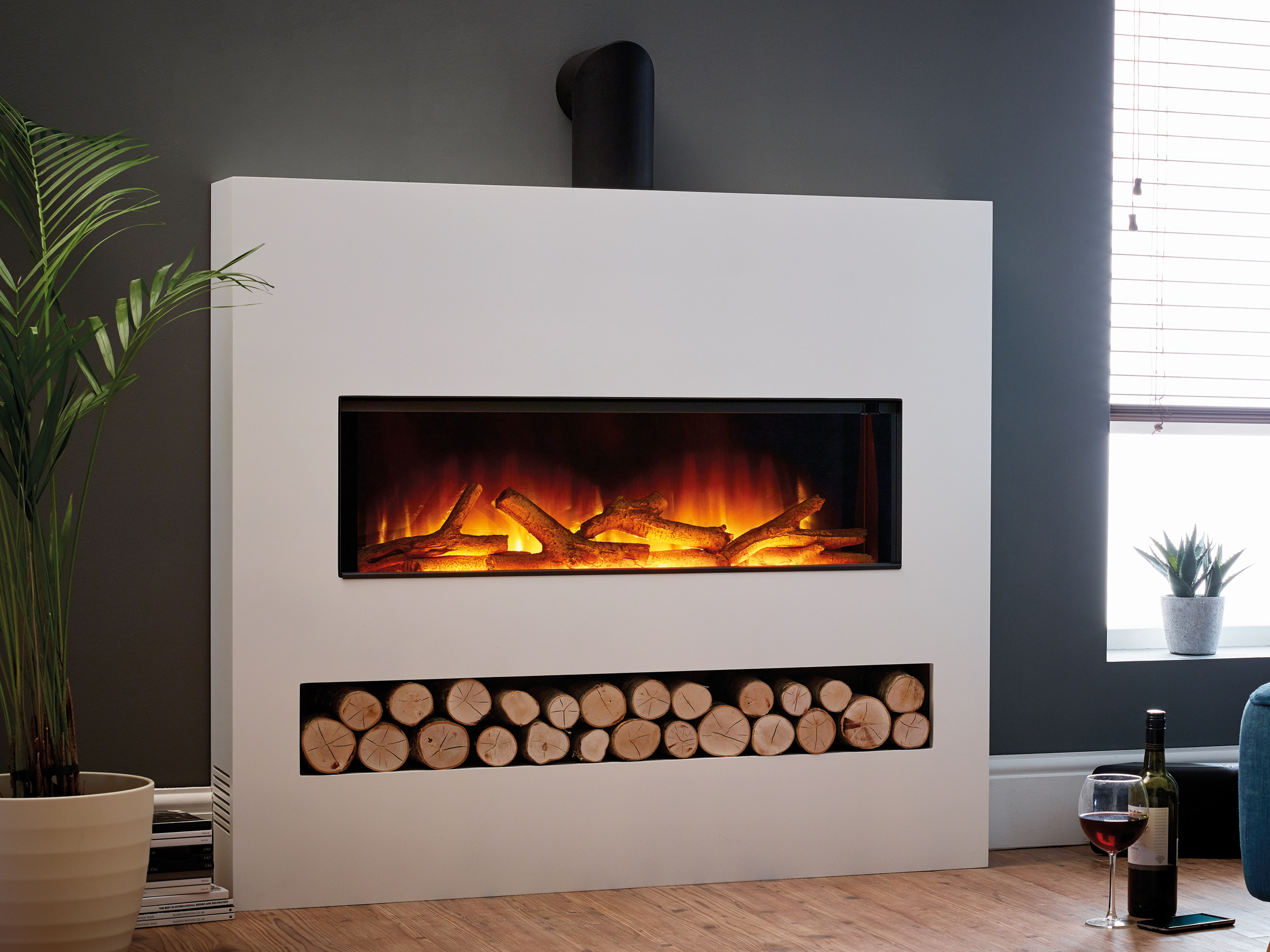 Gotham 900 fireplace suite