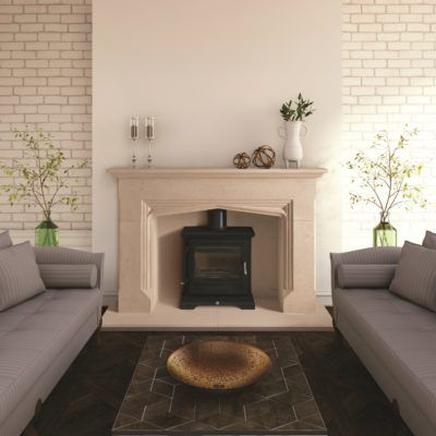 Gotherington Bathstone Fireplace