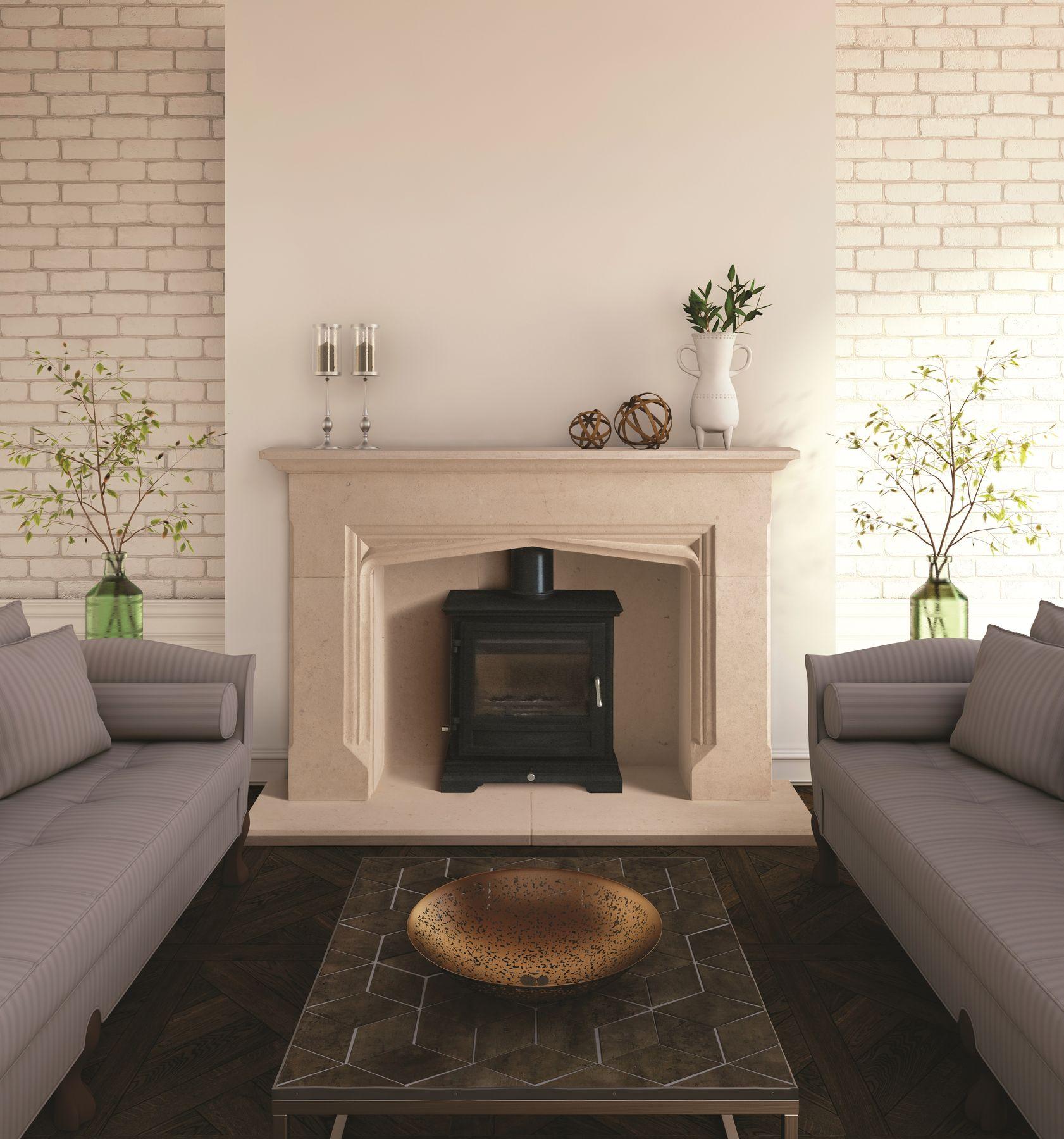 Gotherington Bathstone Fireplace