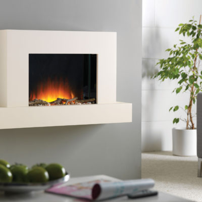 Jaeger 1020 Wall Electric Mounted Fireplace Suite