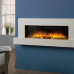 Jaeger 1360 Wall Electric Mounted Fireplace Suite