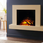 Jaeger 600 Wall Electric Mounted Fireplace Suite