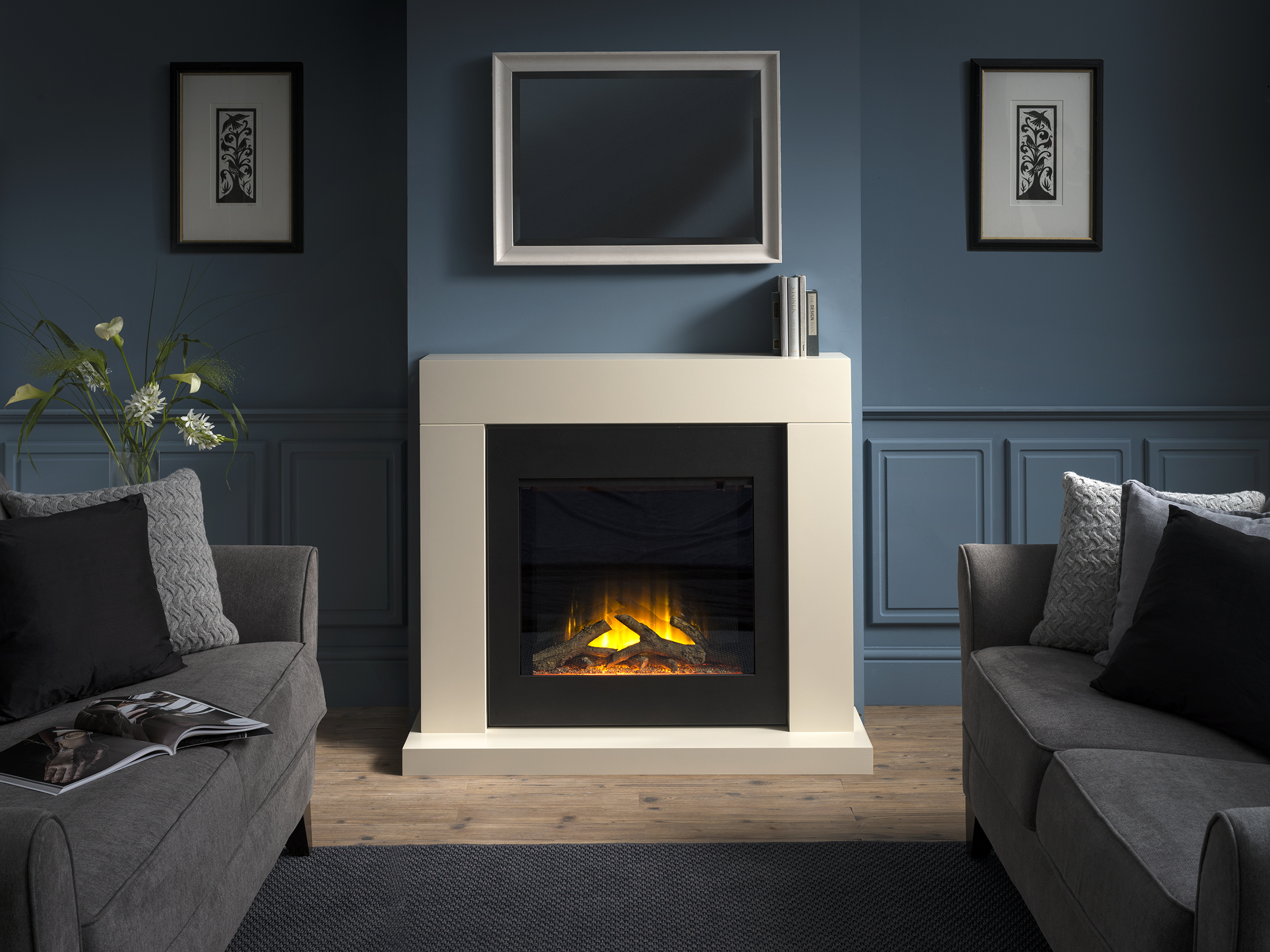 Payton Electric Fireplace Suite
