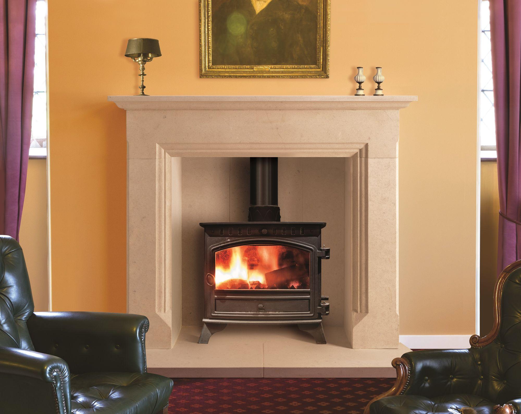 The Belton Bathstone Fireplace