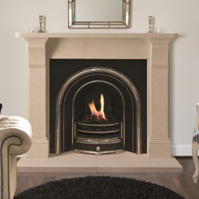 The Edington Bathstone Fireplace