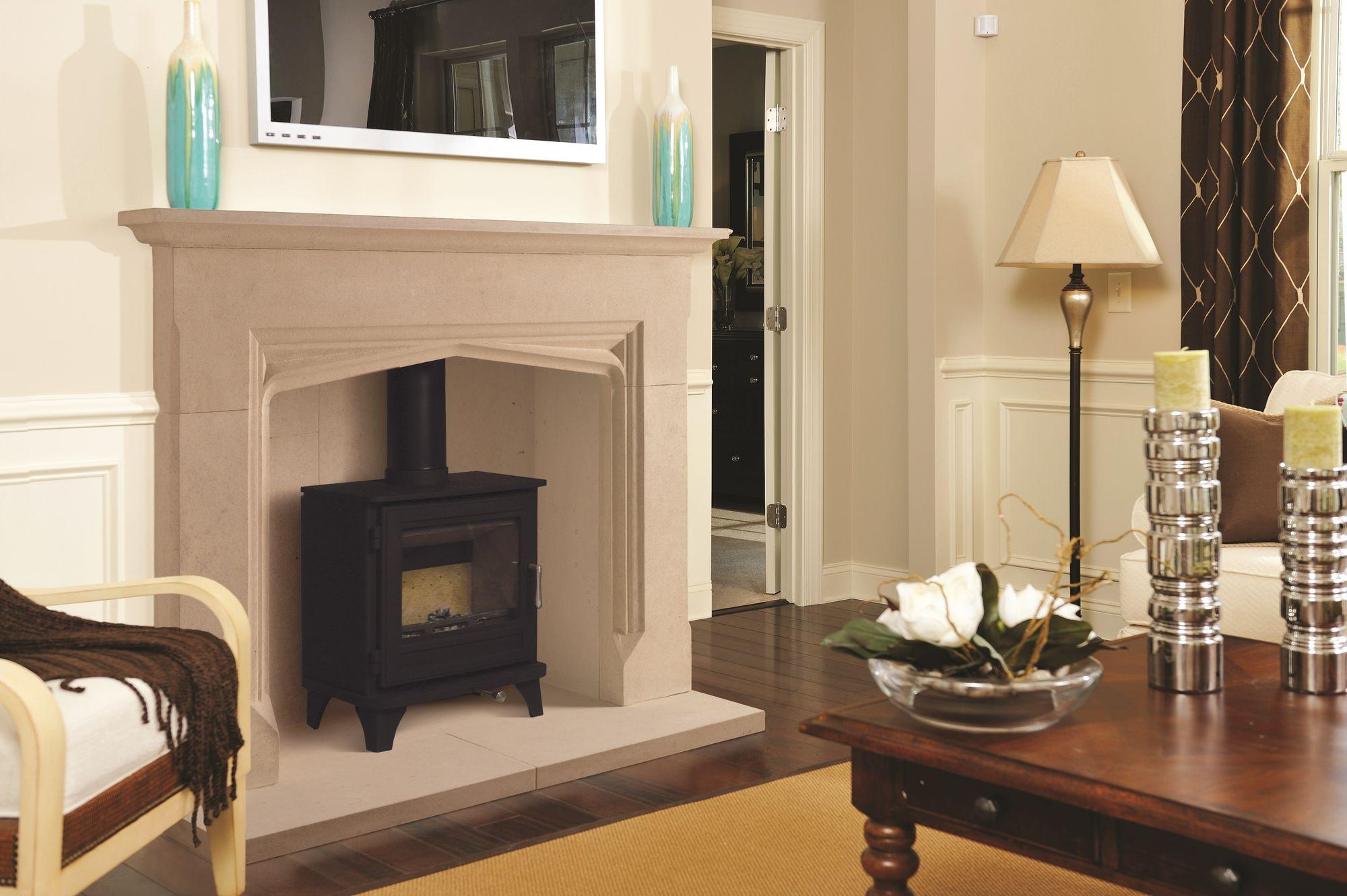 The Hardwick Bathstone Fireplace