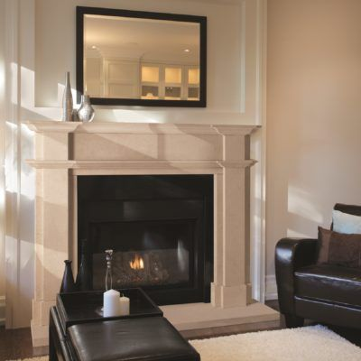The Harford Bathstone Fireplace
