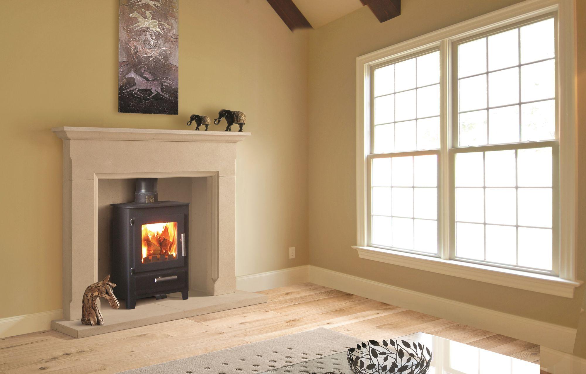 The Kingsbridge Bathstone Fireplace
