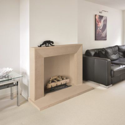 The Osbourne Bathstone Fireplace
