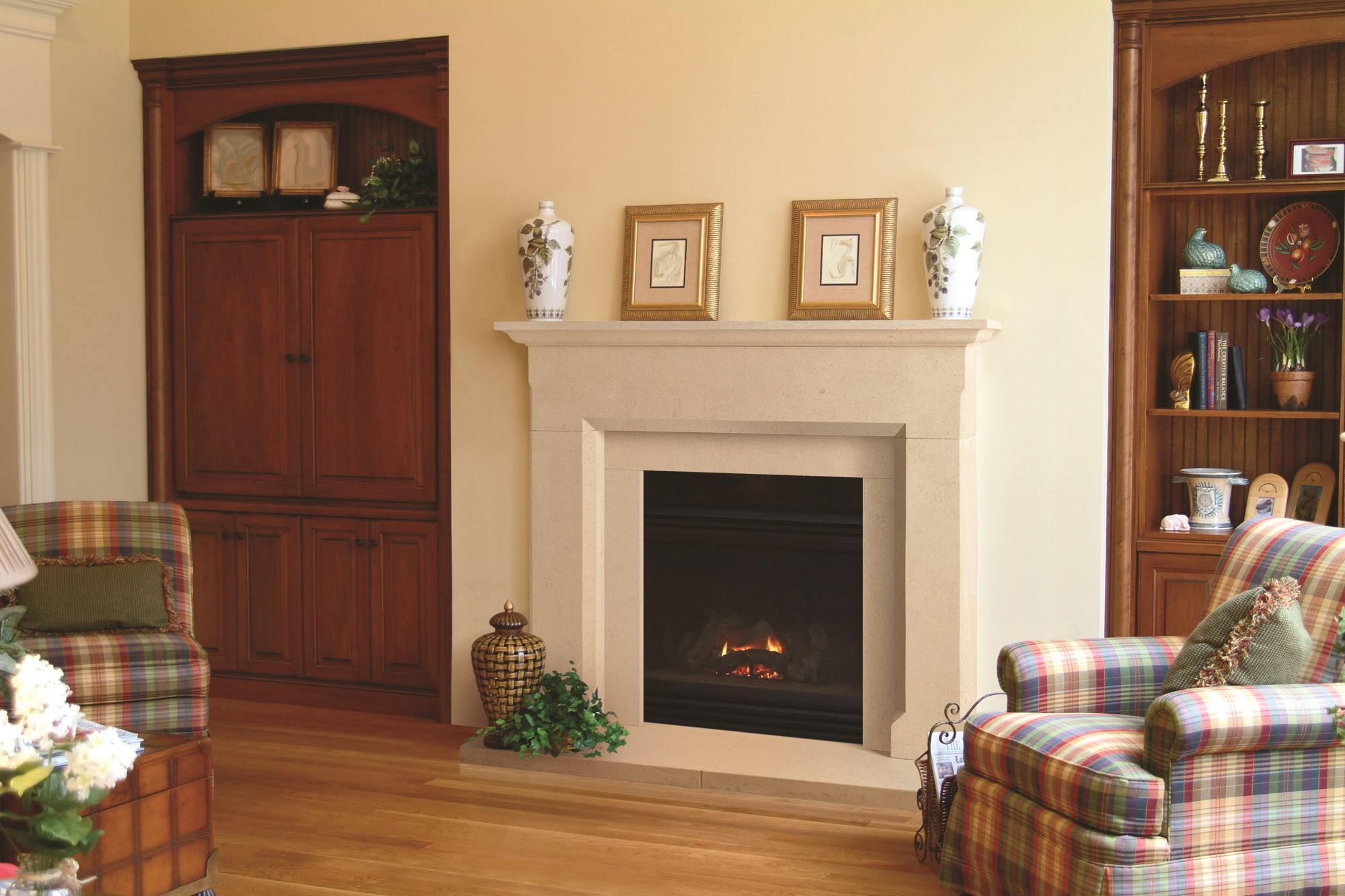 The Rochford Bathstone Fireplace