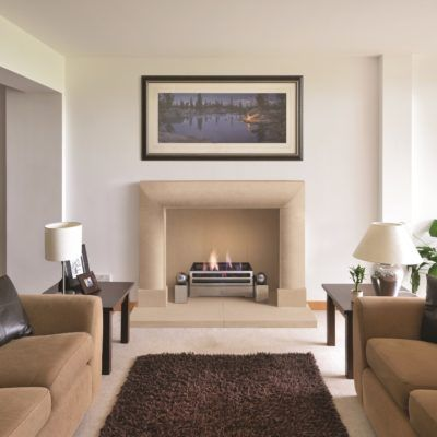 The Scarlton Bathstone Fireplace