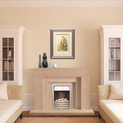 The Wallingford Bathstone Fireplace