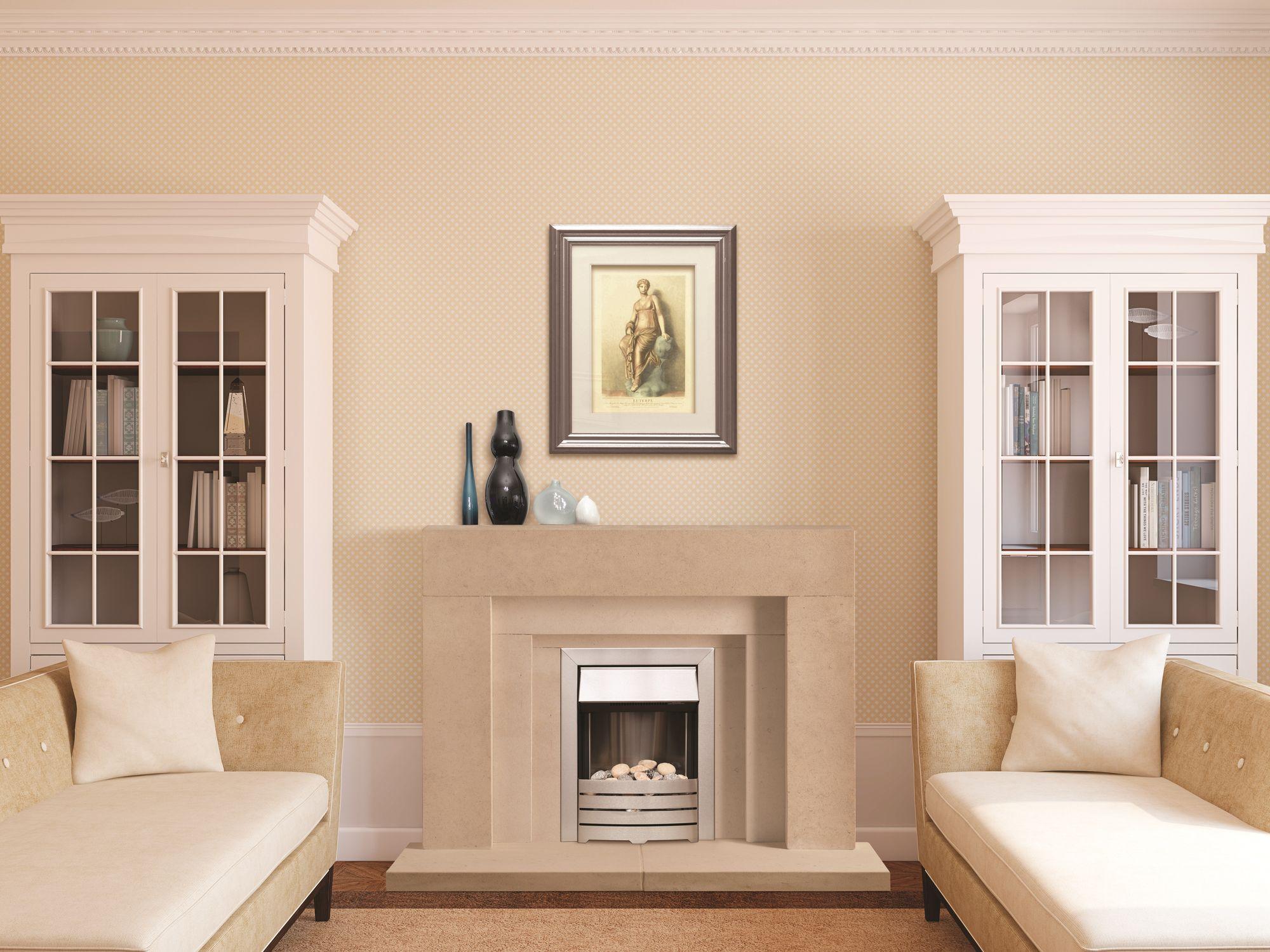The Wallingford Bathstone Fireplace
