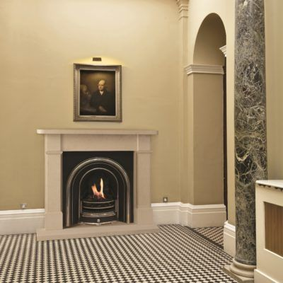 The Willsleigh Bathstone Fireplace