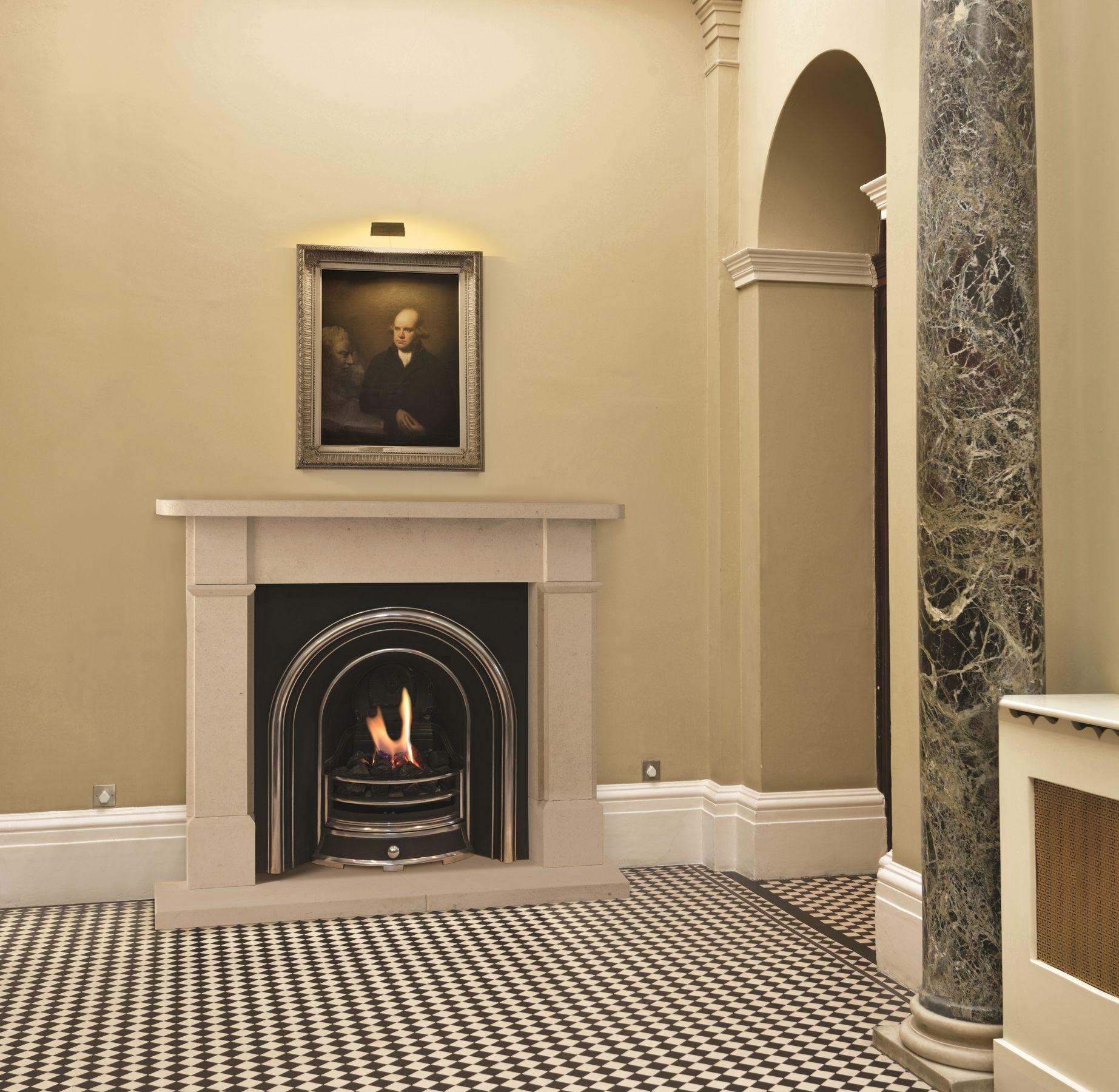 The Willsleigh Bathstone Fireplace