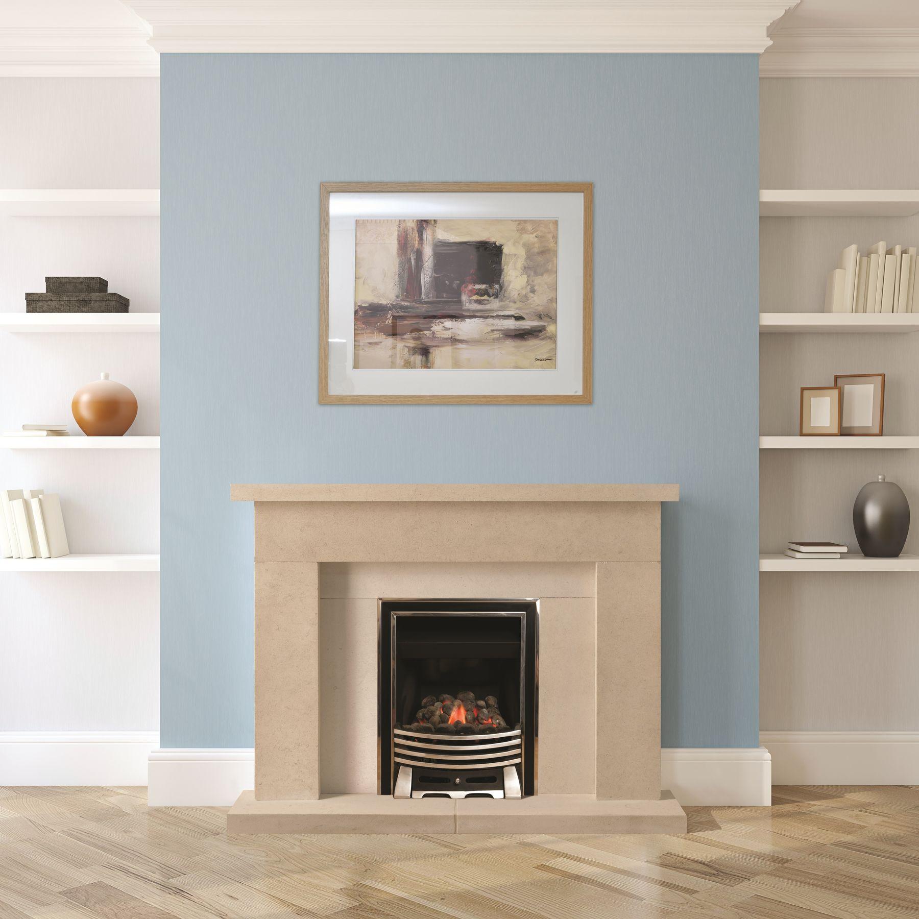 The Wedmore Bathstone Fireplace