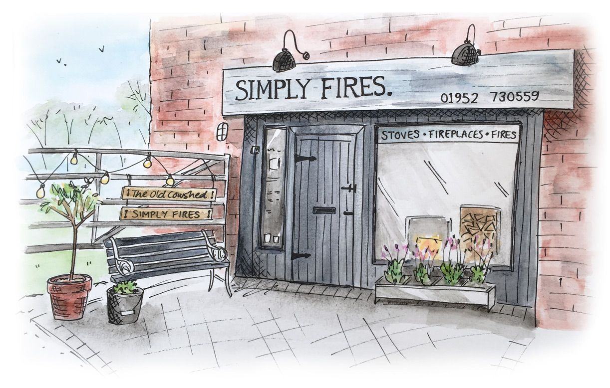 Simply Fires showroom